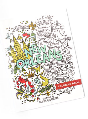Big Easy Coloring Book