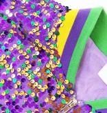 Mardi Gras Sequin Jacket