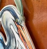 It's a Boy Blue Heron Door Hanger