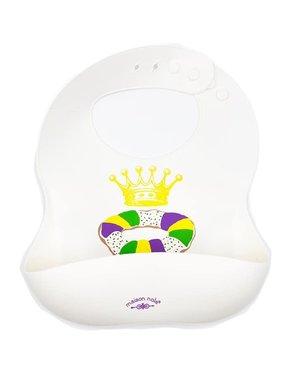 Silicone King Cake Bib