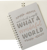 Wonderful World Notebook