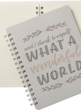 Wonderful World Notebook