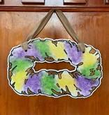 Haydel's Traditional King Cake Door Hanger