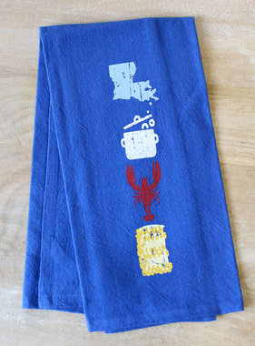 Crawfish Love Flour Sack Towel
