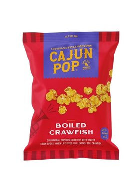 Cajun Pop, Boiled Crawfish