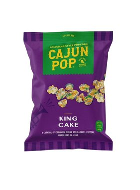 Cajun Pop, King Cake