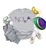 NOLA House Float Decorations Tee