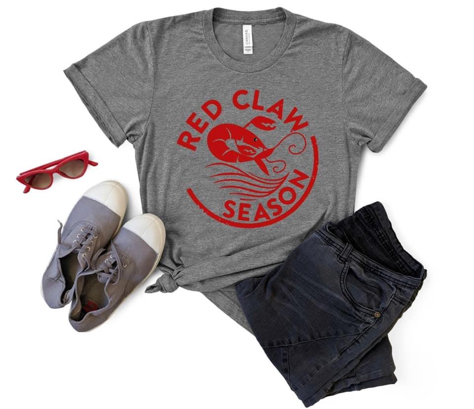 Red Claw Season Tee