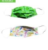 Reversible Face Mask, Shamrocks & Bunnies