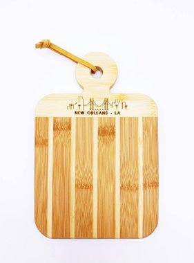Wood Skyline Cutting Board
