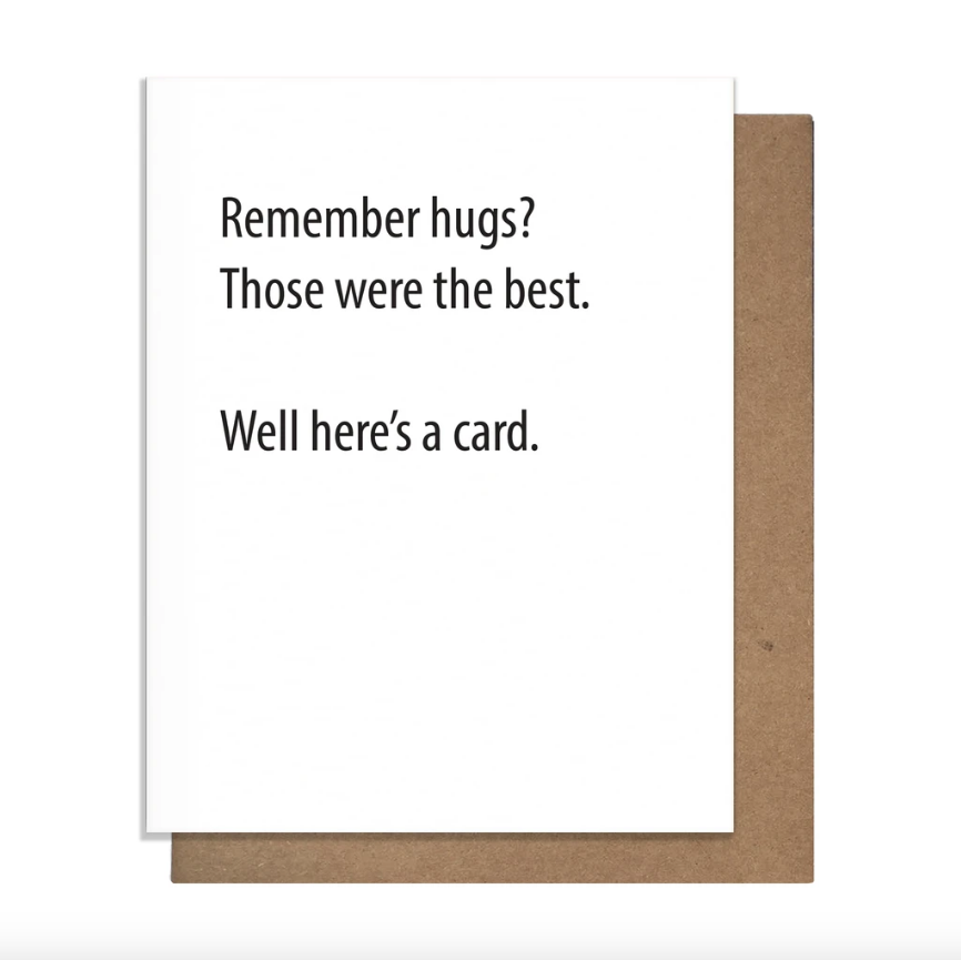 Remember Hugs? Card