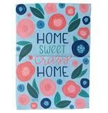 Home Sweet Crazy Home Garden Flag
