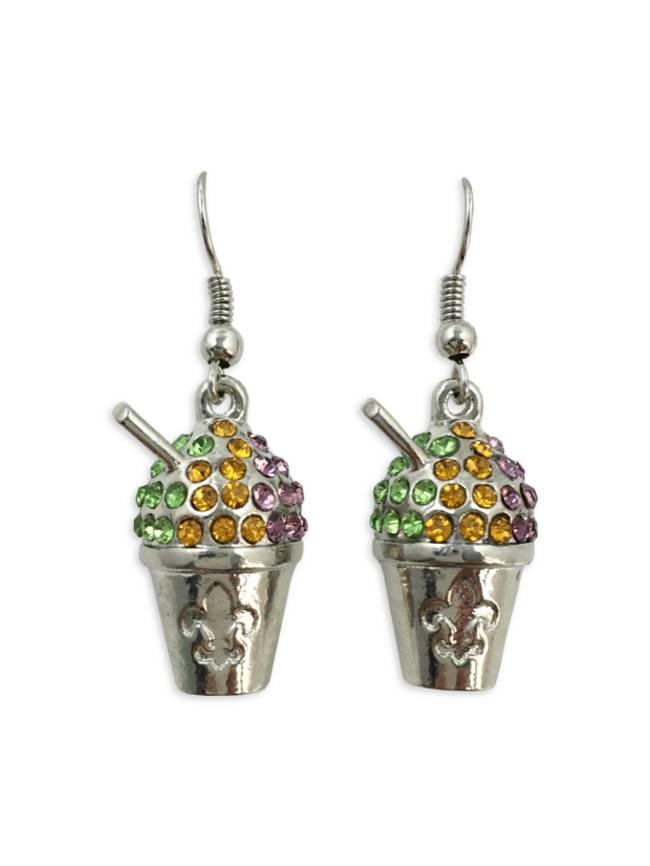 Snoball Earrings