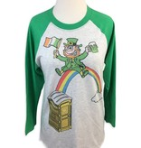Pot O' Gold Baseball Tee