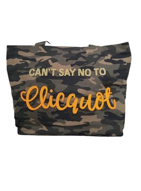 Can't Sat No to Clicquot Tote