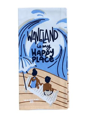 Waveland Happy Place Towel