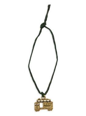Mini Charm Bracelet, Gold Streetcar