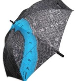 New Orleans Map Golf Umbrella