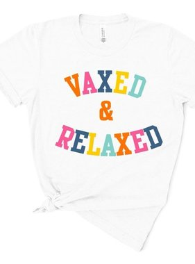 Vaxed & Relaxed Tee *Pre-Sale*