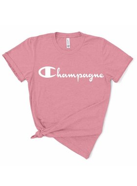 Champagne Glitter Tee