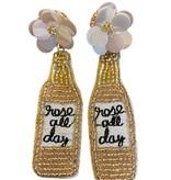 Rosé All Day Bling Earrings