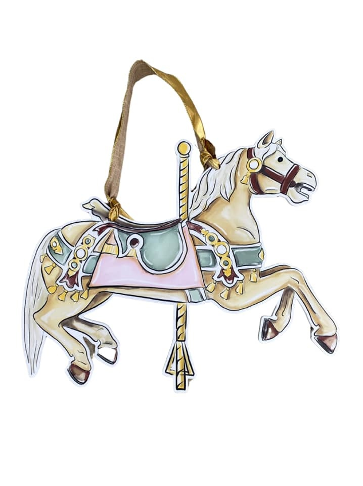 Carousel Horse Door Hanger