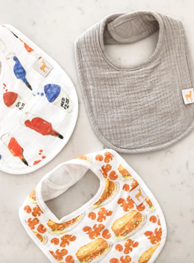 Sugar Rush & Dressed Bib Set