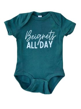 Beignets All Day Onesie