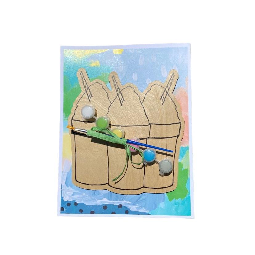 Paint Your Own Snoball Kit