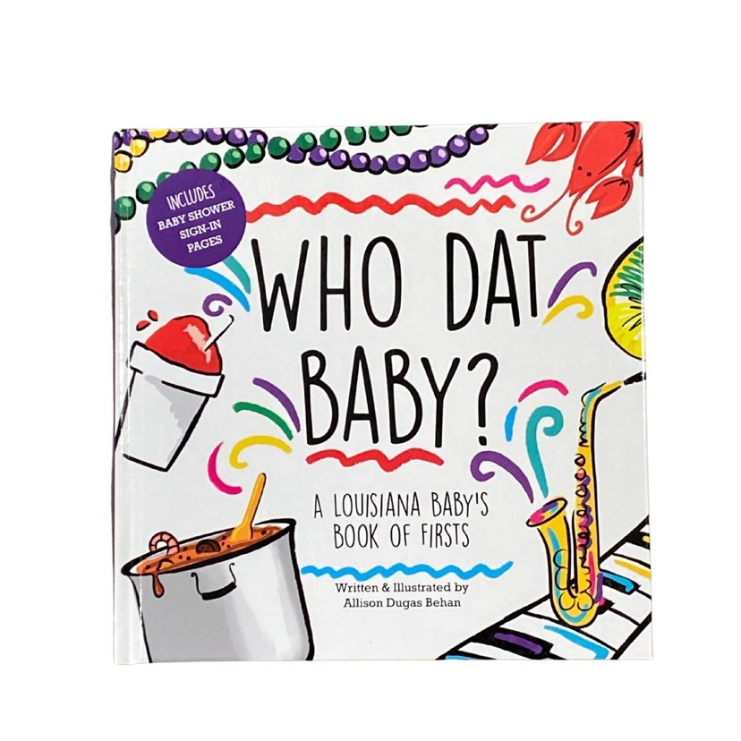 Who Dat Baby? Book