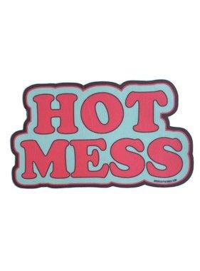 Hot Mess Sticker