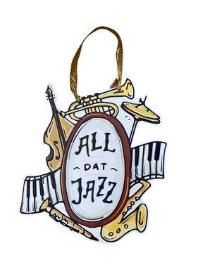 All Dat Jazz Door Hanger