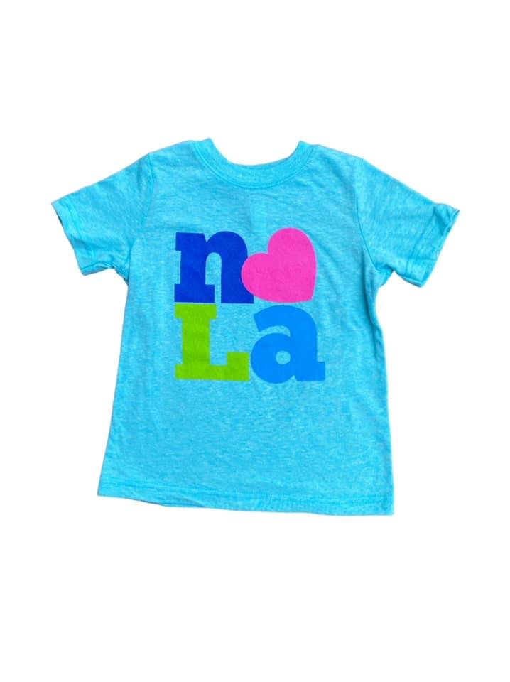 Original NOLA Love Tee, Youth