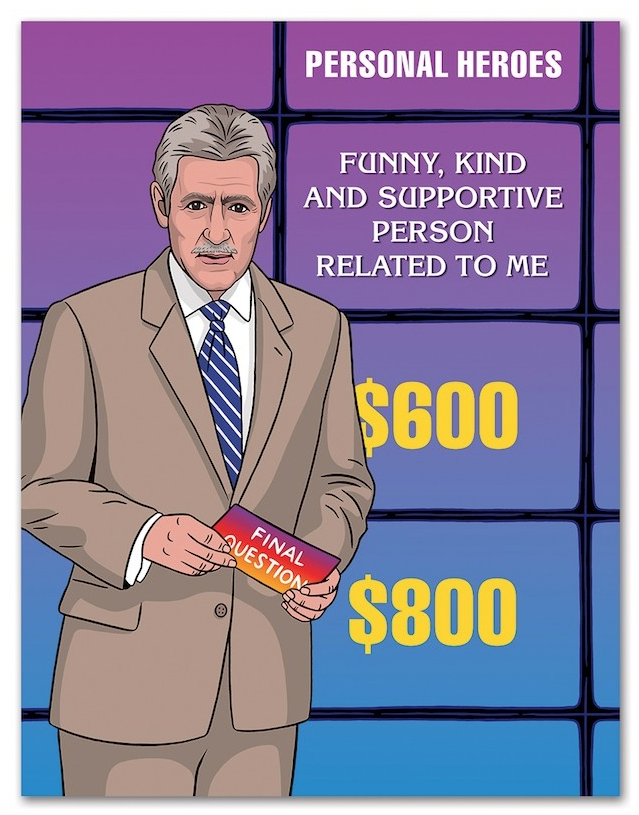 Jeopardy Father's Day Card