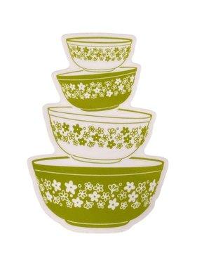 Pyrex Bowl Set Sticker