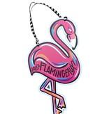 Flamingeaux Door Hanger