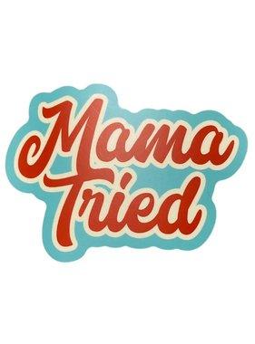 Mama Tried Sticker, Cutout