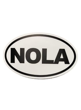 NOLA Oval Sticker