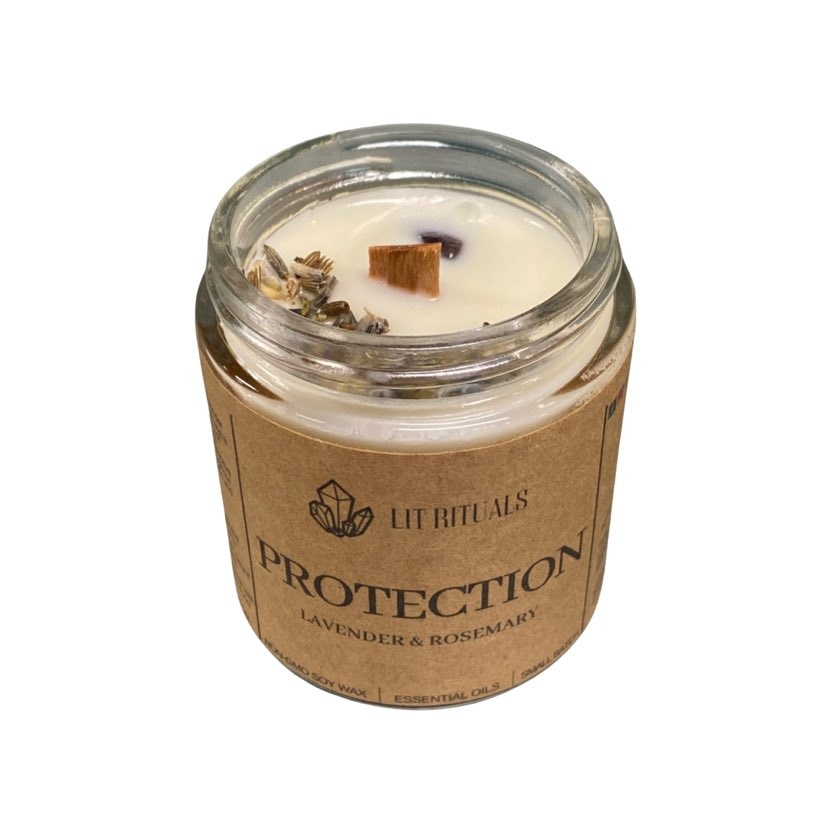 Protection Ritual Candle