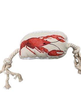 Crawfish Plush Dog Toy