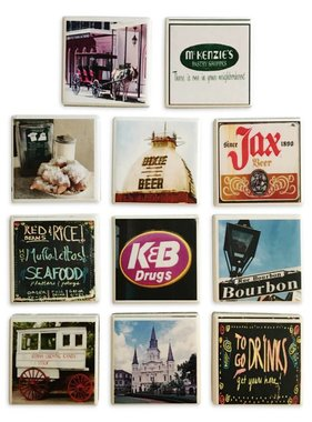New Orleans Picture Tile Magnet