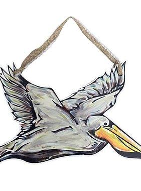 Flying Pelican Door Hanger