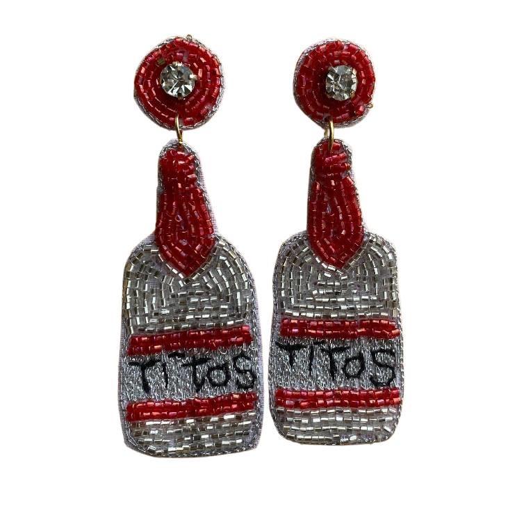 Beaded Titos Earrings