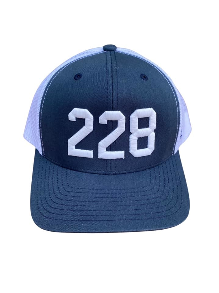 228 Navy Trucker Cap