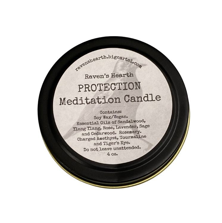 Meditation Protection Candle