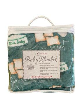 Beignet Baby Blanket