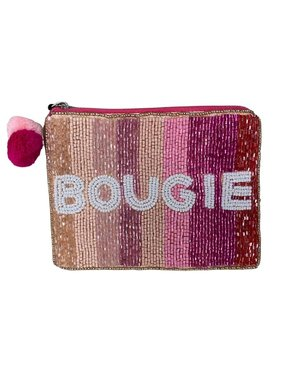 Bougie Beaded Pouch