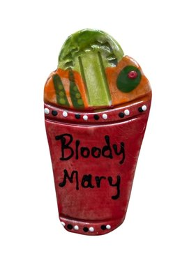 Bloody Mary Ceramic Magnet