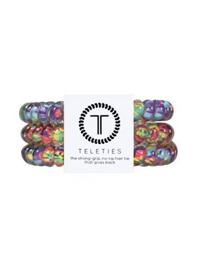 Teleties 3 Pack Small, Psychedelic