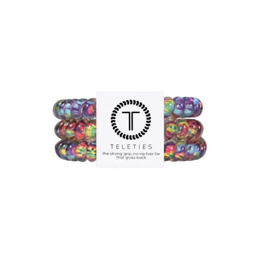 Teleties 3 Pack Large, Psychedelic